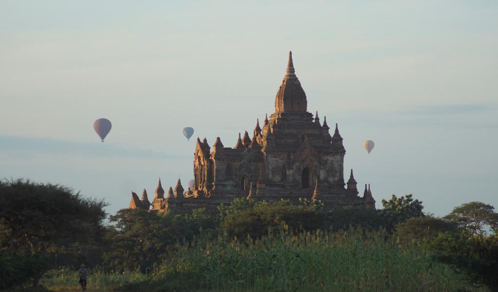 Myanmar-bagan-tempels